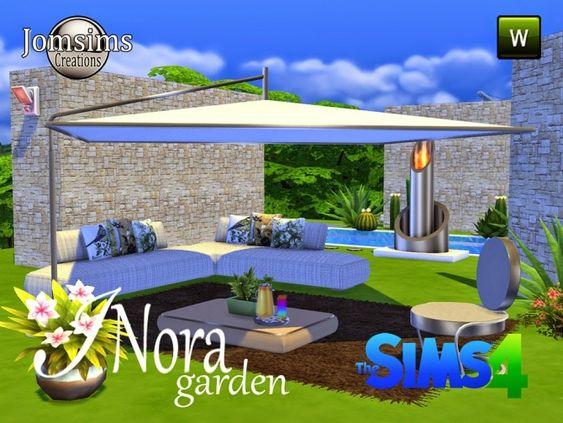 Inora garden set at jomsims creations sims 4 updates for Indoor gardening sims 4