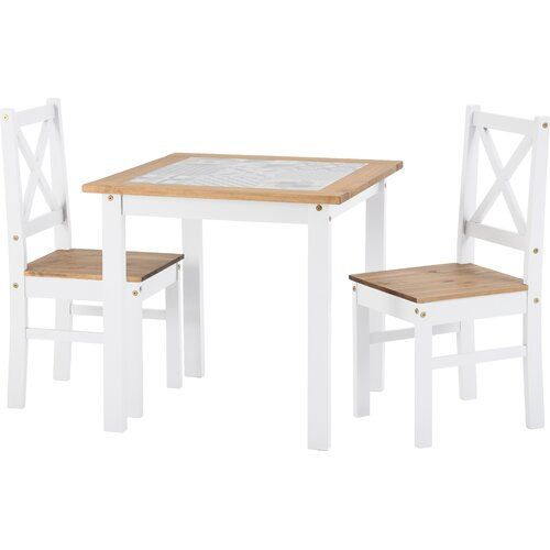 Cockerham Dining Set With 2 Chairs Brambly Cottage Small Dining