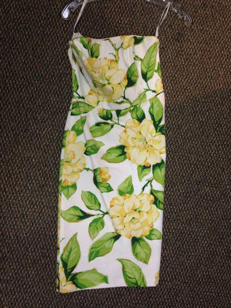 Click to shop - MILLY STRAPLESS DRESS, SIZE 2