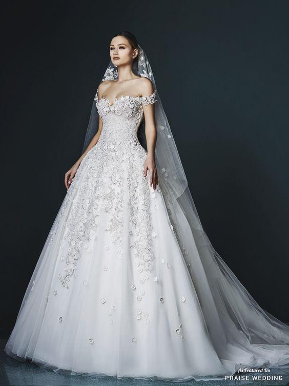الليالي فساتين زفاف ee9afe4103cd89239653