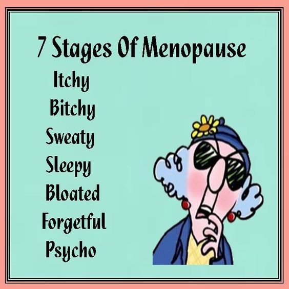 Maxine on the 7 stages of Menopause