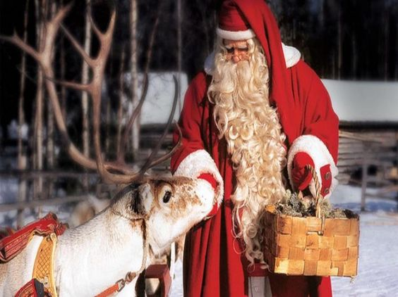 Finlandia Lapponia Villaggio di Babbo Natale