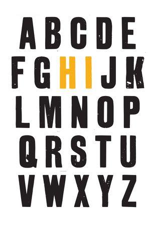Tipografía y símbolos Posters en AllPosters.es