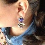 Primary Aztec Drops Earring   BaubleBar