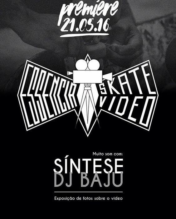 Instagram #skateboarding photo by @jgjobim - de uma forma independente.. ESSÊNCIA SKATE VÍDEO convida!.. primeira exibição a partir das 15:00  @sinteserap e #djbaju nas pick-up exposição de fotos .. Cola conois Dia 21/05 vamos comemorar meu niver c mt som e festa de skateboard !!!!! @dmarquesbr @vinicivs_ribeiro @essenciaskatevideo e CREW !!!!!!! #SA #skateboarding #videoindependente. Support your local skate shop: SkateboardCity.co