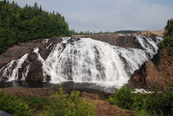 Magpie Falls near Wawa, Ontario Canada