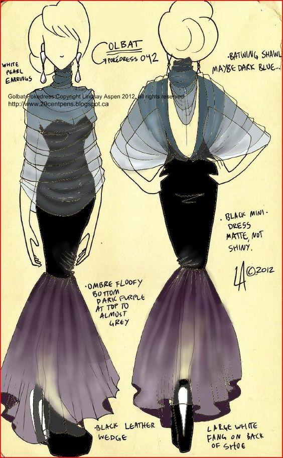 Golbat dress by Lindsay -- 29CentPens
