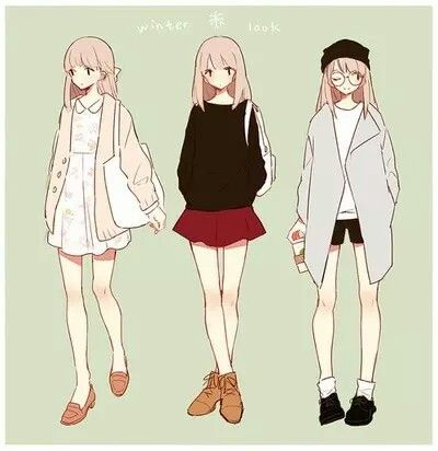 Outfit | Cute Anime girl outfits | Pinterest | Anime Outfits Female Reference and Outfit