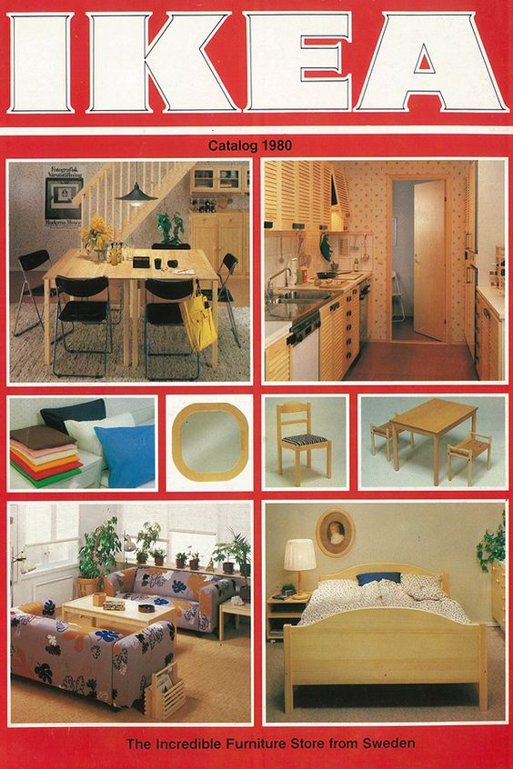 The 1980 Ikea Catalogue A New Decade With Bold New