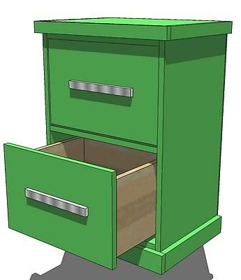 how to build a drawer (for kitchen built in to make bread bins?)