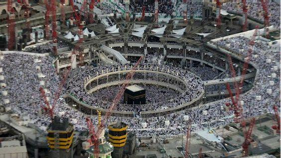 Interior de la Gran Mezquita de la Meca Arabia Saudita: suben a 107 los muertos tras caer una grúa en La Meca