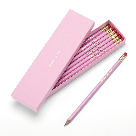 Personalised Pencils & Box - Pencils, Stationery & Folders - Home & School - gltc.co.uk