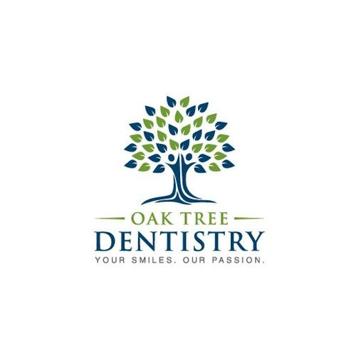 Oak Tree Dentistry Unique Yet And Memorable Attracts New Patients Opening A Brand New Dental How To Memorize Things Logo Branding Identity Family Dentistry