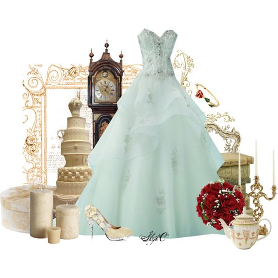 Disney Belle Wedding Dress: Disney's Beauty And The Beast