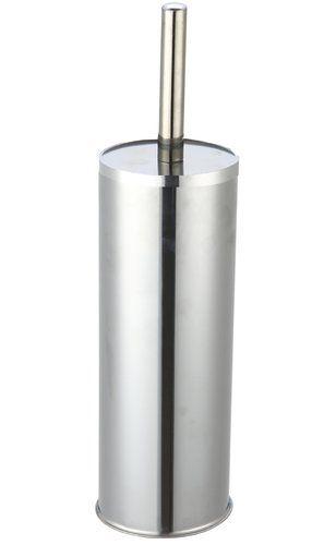 Free Standing Toilet Brush Holder Wayfair Basics Finish Stainless Steel In 2020 Toilet Brushes Holders Toilet Brush Toilet Roll Holder