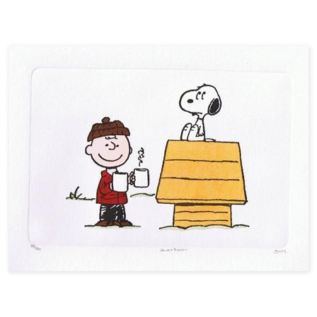 Snoopy & Peanuts - Hot Cocoa one for me and one for you.