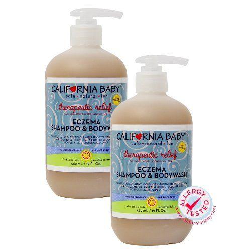 California Baby Therapeutic Relief Eczema Shampoo Bodywash 19 Oz 2 Pack Review Eczema Shampoo California Baby Baby Eczema
