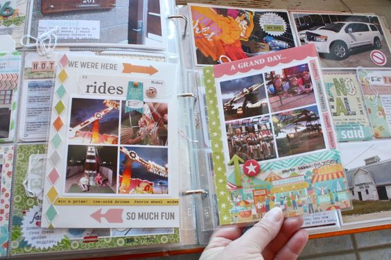 Mish Mash. A mini album inside large PL album. Great for holidays or vacations!