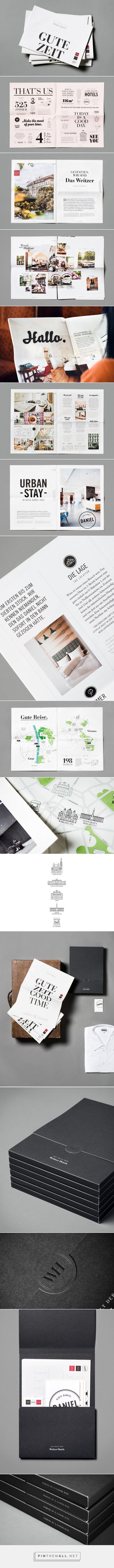 moodley brand identity (2015): Die Welt der Weitzer Hotels, via moodley.at