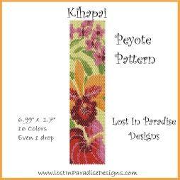 Kihapai Peyote Bracelet Pattern