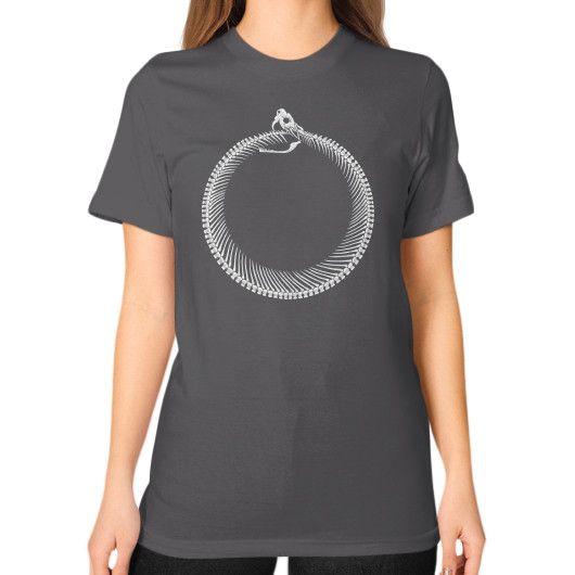 Nekrouroboros Unisex T-Shirt (on woman)