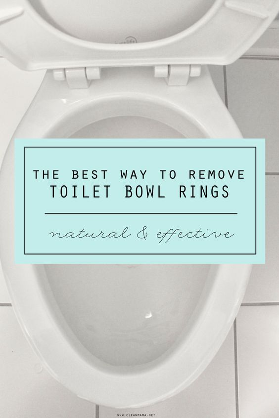 The Best Way To Remove Toilet Bowl Rings Toilet Bowl Ring
