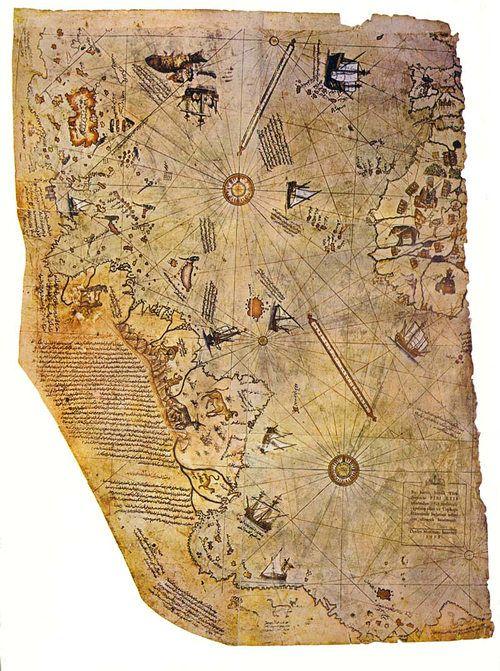De verbijsterende Piri Reis-kaart van 1513: het toonde Antarctica eeuwen vóór ontdekking, maar zonder zijn ijskap