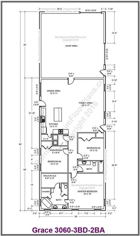 Custom Barndominium Floor Plans And Stock Pole Barn Homes House Plan With Loft Barn Style House Barndominium Floor Plans