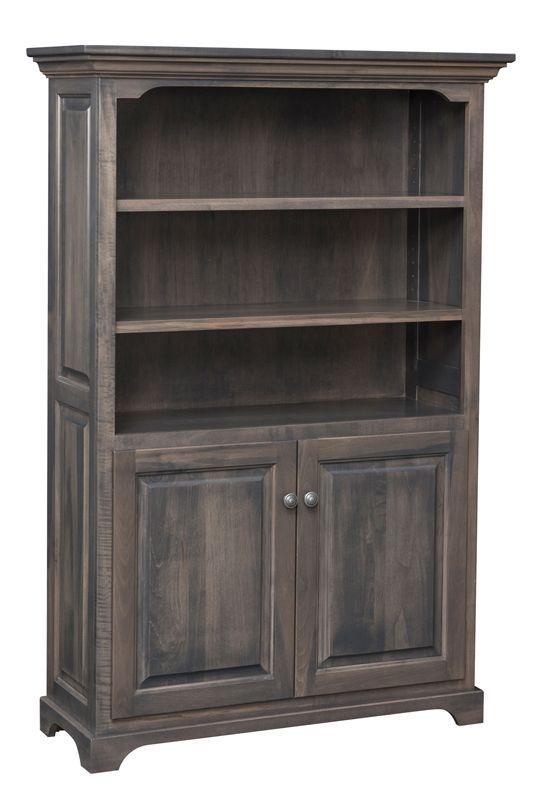 Bookshelf With Bottom Doors