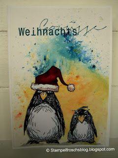 Stempelfroschsblog: Les pingouins grumpy - Katzelkraft
