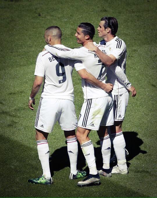BBC Benzema Cristiano Bale - Real Madrid