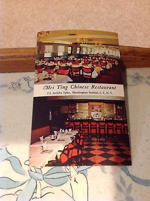 Mei Ting Chinese Restaurant Huntington Station NY Postcard | eBay:
