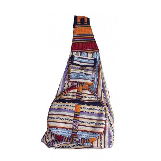 Gheri Cotton Cross Body Backpack | Rad Hippie