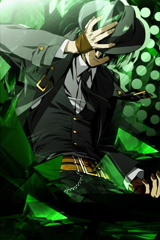 Hazama - Phone Graphic by FireBomb9 on deviantART