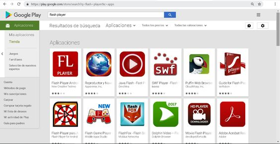Instalar Flash Player en Android