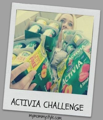 Activia challenge, fitness, digestion, mymommystyle.com #activia