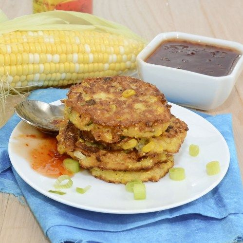 Farmstand Corn Fritters {Sweet Pea's Kitchen}