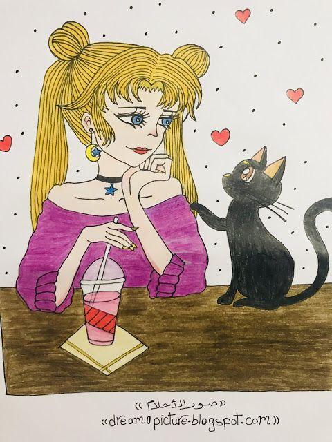 رسم بنات انمى قطط بالالوان Art Zelda Characters Character