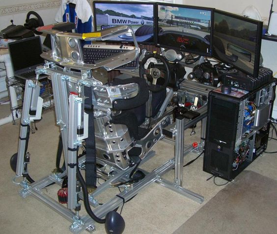"""Home made racing rig by """"T Rizzle"""""""