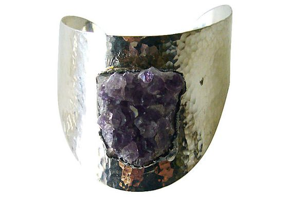 One Kings Lane - Witty & Urbane - Jacob Hull Danish Amethyst Bracelet
