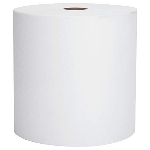 Scott Essential Hard Roll Paper Towels 01040 White 800 Roll 12 Rolls Case 9 600 Case Review Hard Rolls Paper Towel Rolled Paper