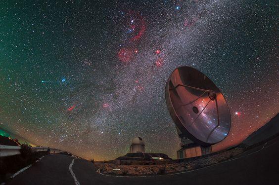 Comet Lovejoy Visits La Silla