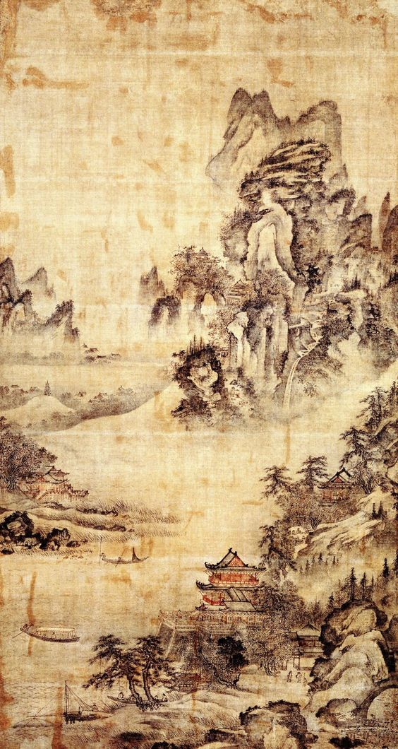 Joseon dynasty painting tattoo ideas pinterest paintings for Dynasty mural works