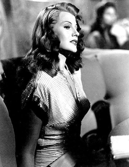 Rita as Gilda: