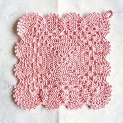 The most beautiful potholder EVER!