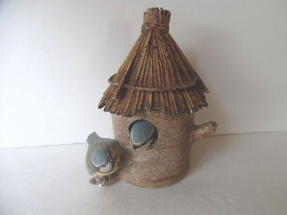 MARJOLEIN BASTIN Natures Sketchbook Bird KITCHEN TIMER Birdhouse (Hallmark) GC