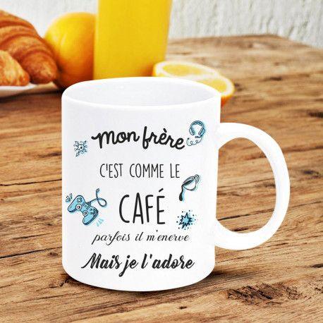 Mug Mon Frère | Cadeaux pour frère, Cadeaux pour la famille, Idee