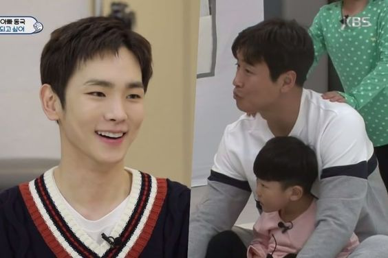 "SHINee's Key Tries To Catch Lee Dong Gook Up On Slang On ""The Return Of Superman"""