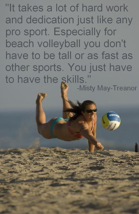 Love Beach Volleyball too.