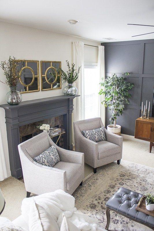 Living Room Makeover Loveyourabode 16 Remodelinglivingroom Transitional Living Room Design Transitional Living Rooms Living Room Chairs #transitional #living #room #furniture